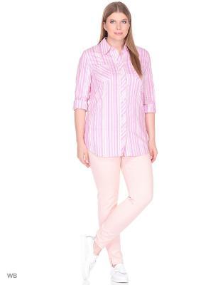 Блузка BERKLINE. Цвет: розовый