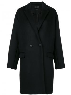 Пальто-кокон Isabel Marant. Цвет: чёрный