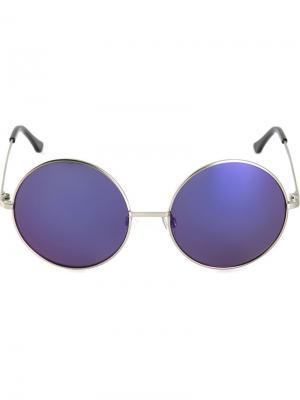 Солнцезащитные очки Chandler X Selima Optique. Цвет: металлический