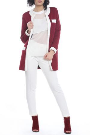 Жакет Emma Monti. Цвет: vinous