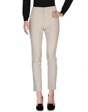 Повседневные брюки L.P. di L. PUCCI. Цвет: светло-серый