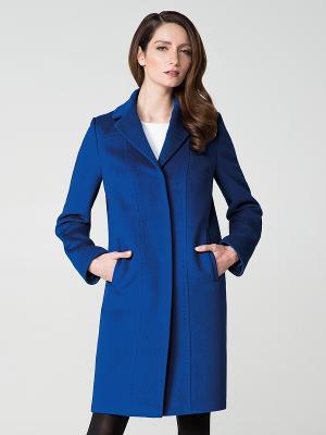 Пальто Pompa. Цвет: синий