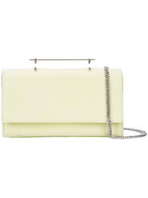 Top handle wallet M2malletier. Цвет: зелёный