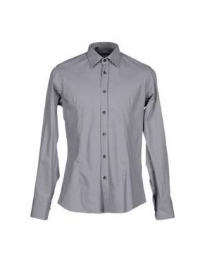 Pубашка HAVANA & CO.. Цвет: серый