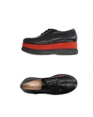 Обувь на шнурках HÉCOS. Цвет: ржаво-коричневый