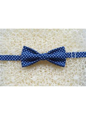 Галстук-бабочка BOB Accessories. Цвет: синий