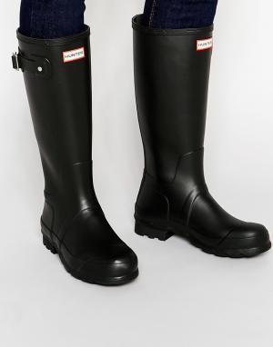 Hunter Резиновые сапоги Original. Цвет: черный