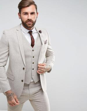 Harry Brown Облегающий пиджак. Цвет: рыжий