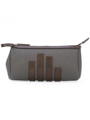 Straps appliqué clutch Mismo. Цвет: серый