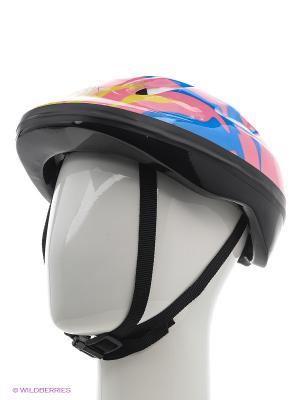 Шлем защитный RIDEX Fire, синий/розовый. Цвет: синий, розовый