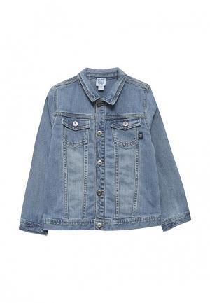 Куртка джинсовая Chicco. Цвет: голубой