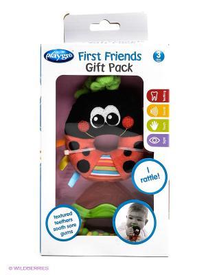 Игровой набор Playgro. Цвет: красный, черный, зеленый