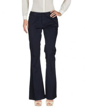 Повседневные брюки ANOTHER LABEL. Цвет: темно-синий