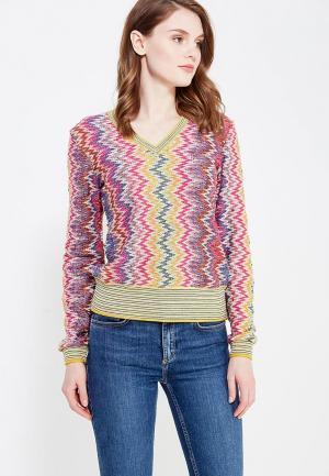 Пуловер Desigual. Цвет: разноцветный