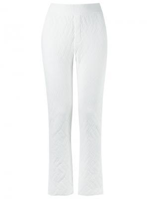 Knit trousers Gig. Цвет: белый