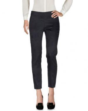 Повседневные брюки CARLA MONTANARINI. Цвет: черный