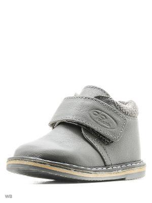 Ботинки ФОМА. Цвет: серый