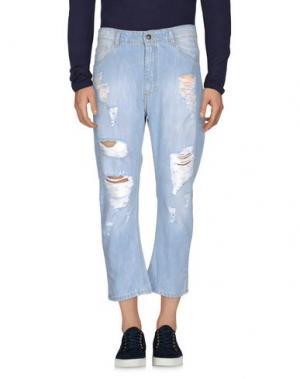 Джинсовые брюки MINIMAL. Цвет: синий