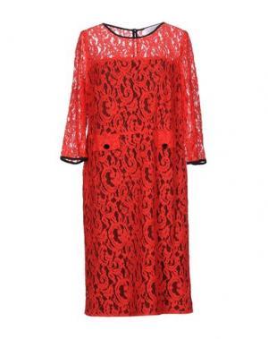 Платье до колена CALALUNA. Цвет: красный