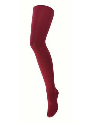 Колготки Лукоморье. Цвет: бордовый