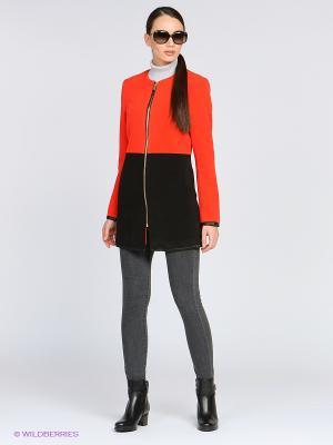 Пальто ARBOR VITAE. Цвет: красный