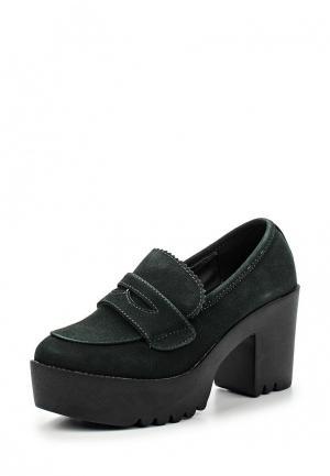 Туфли Benini. Цвет: зеленый
