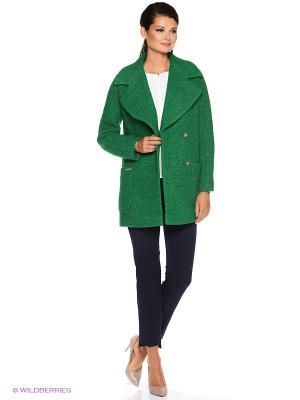 Пальто PF. Цвет: зеленый