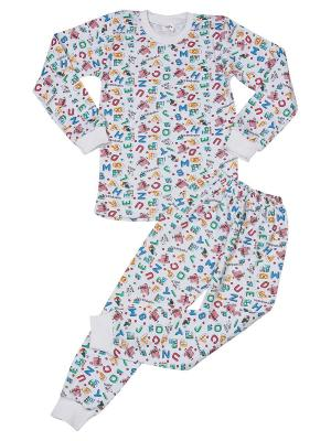 Пижама SOFT SECRET. Цвет: белый