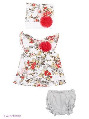Комплект одежды Baby Boom. Цвет: серый, красный