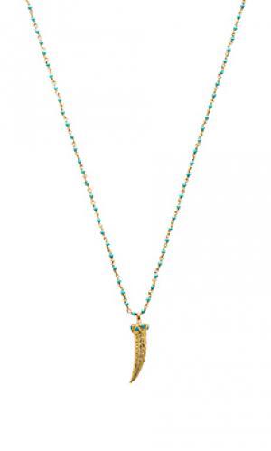 Ожерелье baylin Cleobella. Цвет: синий