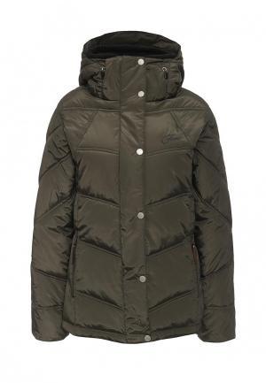 Куртка утепленная Five Seasons. Цвет: хаки