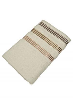 Полотенце махровое Tete-a-Tete. Цвет: белый (молочный)
