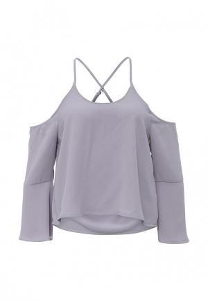 Блуза Influence. Цвет: серый