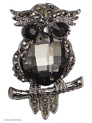 Брошь Royal Diamond. Цвет: черный