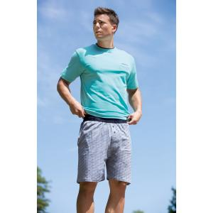 Пижама с шортами DANIEL HECHTER LINGERIE. Цвет: синий + темно-синий