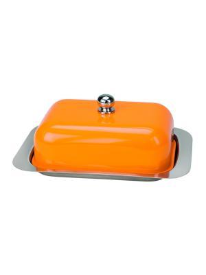 Маслёнка Betty Contento. Цвет: оранжевый