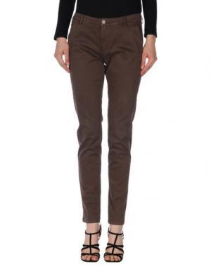 Повседневные брюки 40WEFT. Цвет: какао