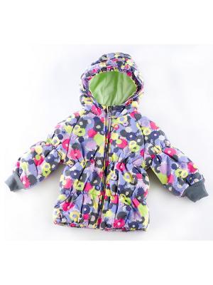 Куртка утепленная ВЕНЕЙЯ. Цвет: салатовый