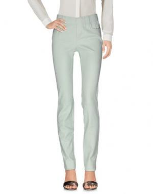Повседневные брюки STOULS. Цвет: светло-зеленый