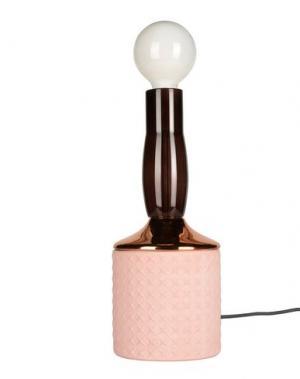 Настольная лампа SELETTI. Цвет: розовый