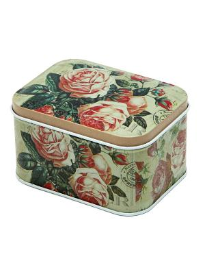 Коробка для безделушек и мелочей Бутоны Magic Home. Цвет: белый