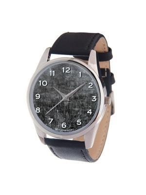 Часы Mitya Veselkov. Цвет: серый, белый