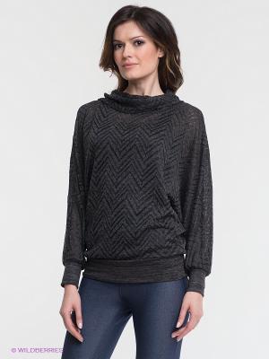 Джемпер T&M. Цвет: темно-серый, антрацитовый