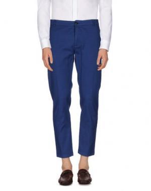 Повседневные брюки DEPARTMENT 5. Цвет: синий