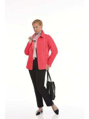 Куртка Мариба Notte Bianca. Цвет: коралловый
