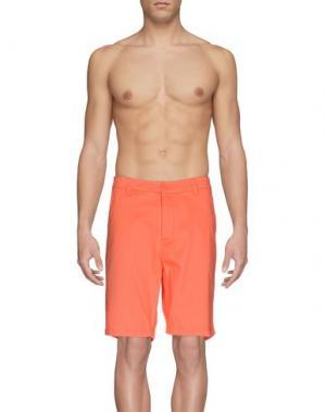 Пляжные брюки и шорты RIPCURL. Цвет: коралловый