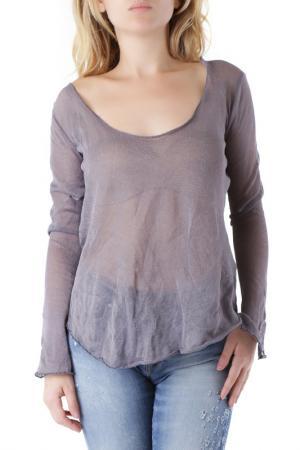 Блуза Sexy Woman. Цвет: серый