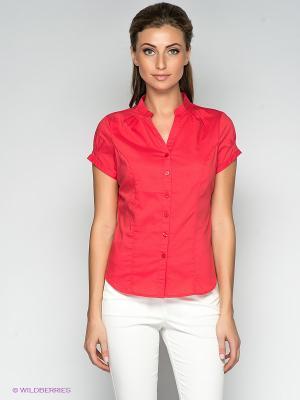 Блузка QUIOSQUE. Цвет: красный