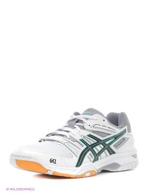 Спортивная обувь GEL-ROCKET 7 ASICS. Цвет: белый, черный