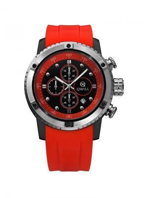 Часы ювелирные коллекция Q-Sport QWILL. Цвет: черный